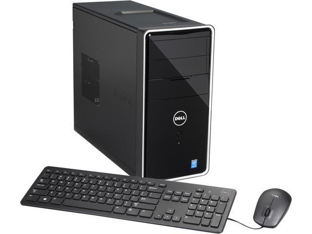 DELL Desktop PC i3847-4923BK Intel Core i3 4150 (3.50 GHz) 8 GB DDR3 1 TB HDD Intel HD Graphics 4400 Windows 7 Professional 64-Bit
