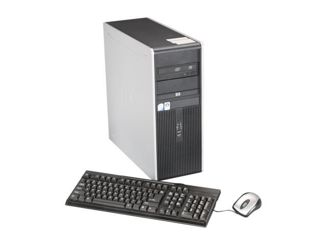 HP Desktop PC DC7800/2.3/2G/80G Core 2 Duo 2.3 GHz 2GB 80 GB HDD Windows XP Professional