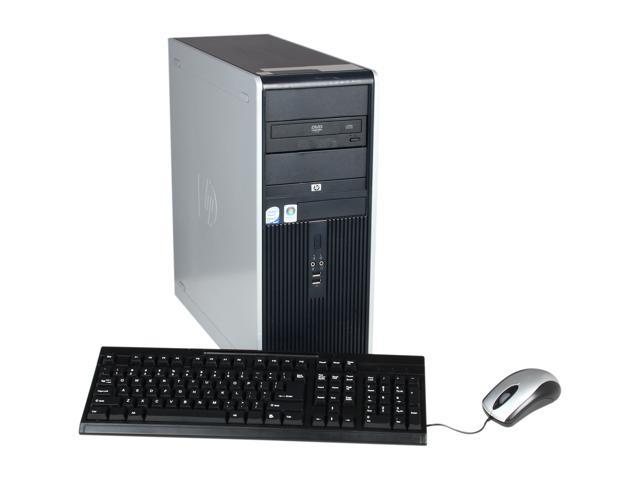 HP Desktop PC DC7800 Core 2 Duo E6550 (2.33 GHz) 2GB 160 GB HDD Windows 7 Professional