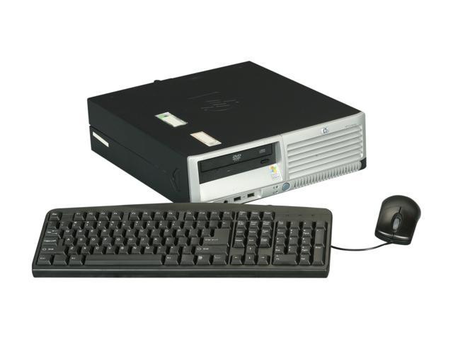 HP Compaq Desktop PC DC7700 Core 2 Duo 1.8 GHz 2GB 80 GB HDD Windows 7 Home Premium