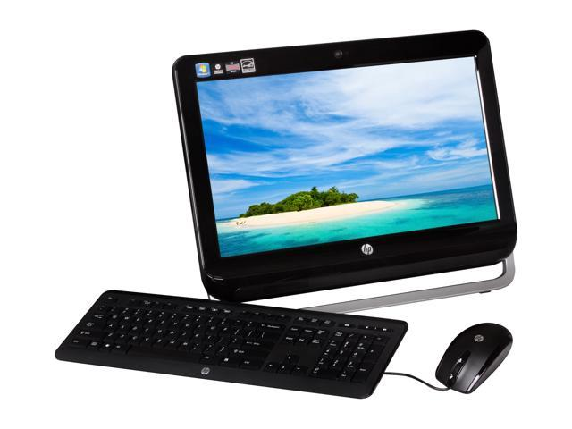 "HP All-in-One PC Omni 120-1130 (H2M56AA#ABA) AMD Dual-Core Processor E2-1800 (1.7 GHz) 6 GB DDR3 500 GB HDD 20"" Windows 7 ..."