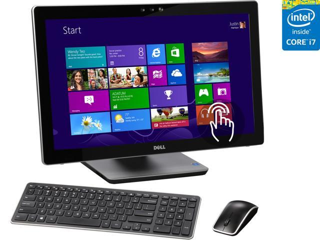 DELL All-in-One Computer Inspiron One 2350 4th Generation Intel Core i7 4710MQ (2.5 GHz) 12 GB DDR3 1 TB HDD 23.8