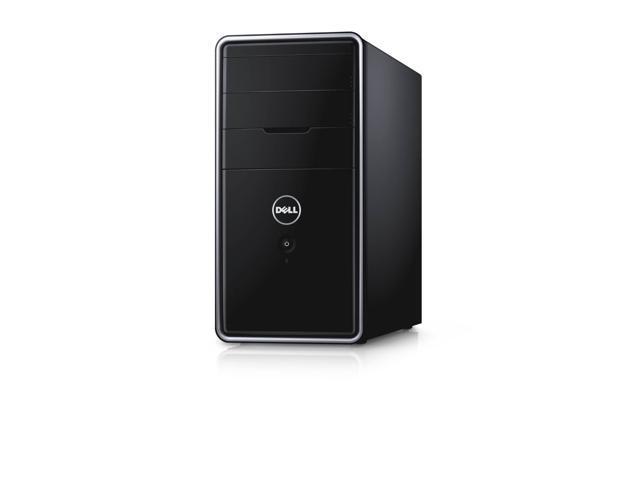 Dell Inspiron 3847 Intel Pentium G3260 X2 3.3GHz 4GB 1TB Win8.1,Black(Certified Refurbished)