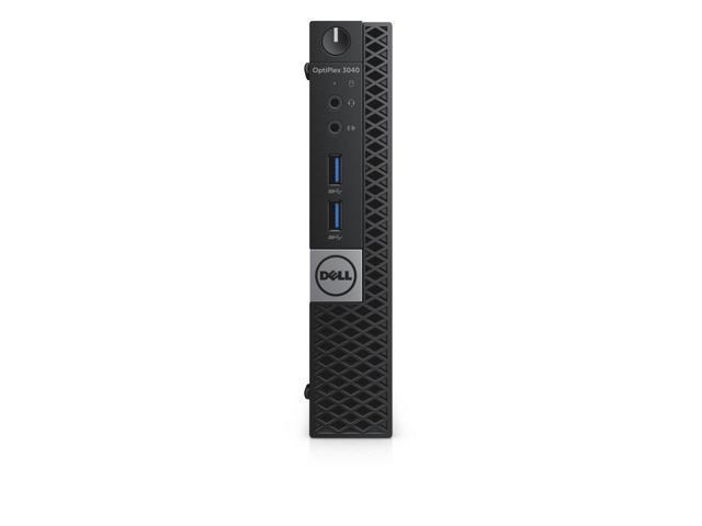 Dell Optiplex 3040 Intel Core i3-6100T X2 3.2GHz 8GB 500GB Win10,Black(Certified Refurbished)