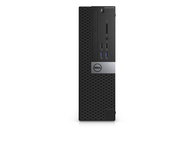 Dell Optiplex 7040 Intel Core i7-6700 X4 3.4GHz 8GB 256GB SSD Win10,Black(Certified Refurbished)