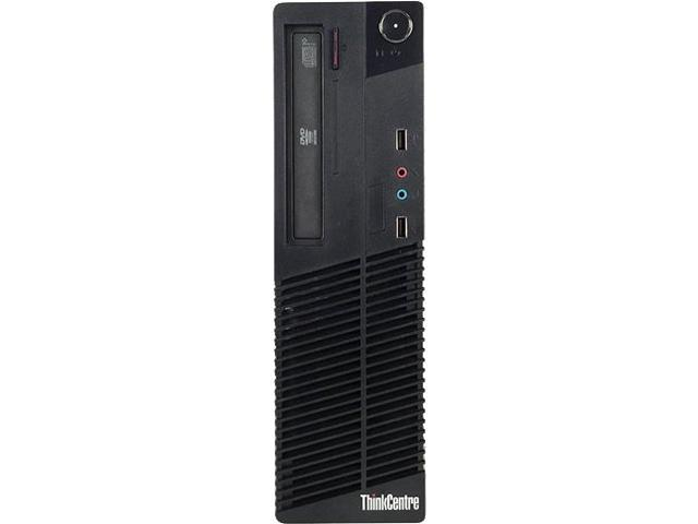 Lenovo Grade A Desktop Computer M71E Intel Core i3 2nd Gen 2100 (3.10 GHz) 8 GB DDR3 250 GB HDD 100 GB SSD NVIDIA NVS 290 Windows 7 Professional (Free Upgrade to 2-Year Warranty with Registration)