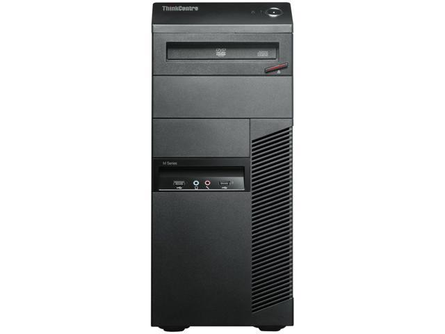 ThinkCentre Desktop PC M81 (7517C1U) Intel Core i5 Processor Speed 3.10 GHz Processor Model i5-2400 4 GB DDR3 500 GB HDD ...