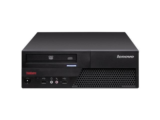 Lenovo Desktop PC ThinkCentre Core 2 Duo Processor Speed 2.93 GHz Processor Model E7500 Standard Memory 2 GB Memory Technology ...