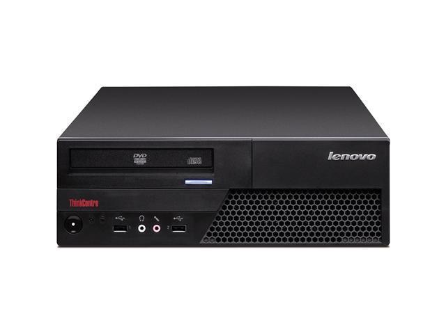 Lenovo Desktop PC ThinkCentre Pentium Dual Core Processor Speed 2.60 GHz Processor Model E5300 Standard Memory 2 GB Memory ...