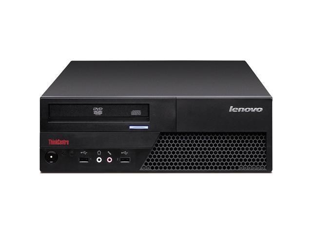 Lenovo ThinkCentre M58 6258A9U Desktop Computer Pentium Dual-core E5200 2.5GHz - Small Form Factor - Black