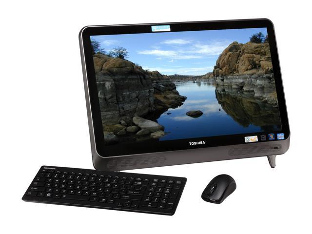 "Toshiba All-in-One PC LX835-D3220 (PQQ14U-004001) Intel Core i5 3210M (2.50 GHz) 6 GB DDR3 1 TB HDD 23"" Touchscreen Windows ..."