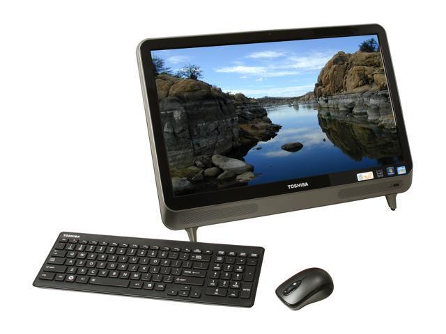 Toshiba All-in-One PC LX835-D3230 (PQQ14U-00K001) Intel Core i7 3610QM (2.30 GHz) 6 GB DDR3 1 TB HDD 23