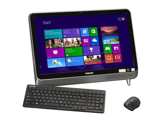 Toshiba All-in-One PC LX835-D3340 (PQQ18U-00R009) Intel Core i7 3630QM (2.40 GHz) 6 GB DDR3 1 TB HDD 23