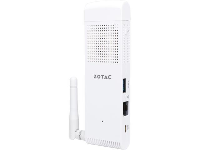Zotac Desktop PC Atom X5-Z8300 (1.44 GHz) 2 GB DDR3L 32 GB eMMC SSD Intel HD Graphics Windows 10 Home 32-bit Pre-installed