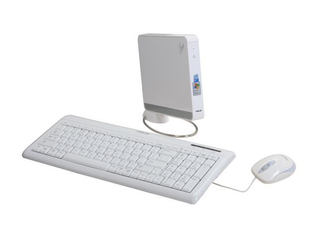 ASUS Desktop PC Eee Box EBXB202-WHT-X0023 Intel Atom N270 (1.60 GHz) 1 GB DDR2 80 GB HDD Intel GMA 950 Windows XP Home