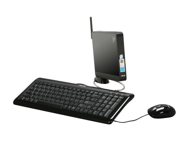ASUS Desktop PC Eee Box EBXB202-BLK-X0081 Intel Atom N270 (1.60 GHz) 1 GB DDR2 160 GB HDD Windows XP Home