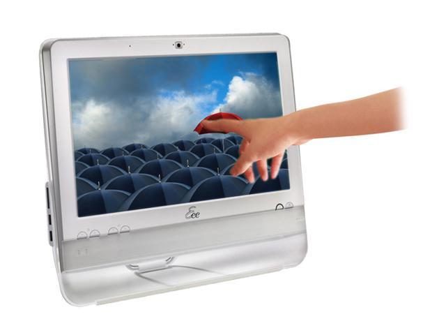 ASUS Desktop PC Eee Top ETP1602-WT-X0044 Intel Atom N270 (1.60 GHz) 1 GB DDR2 160 GB HDD 15.6