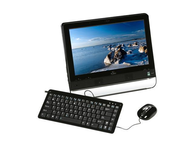ASUS Desktop PC Eee Top ETP1602C-BK-P0226 Intel Atom N270 (1.60 GHz) 2 GB DDR2 160 GB HDD 15.6
