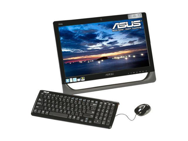 ASUS Desktop PC Eee Top ET2010PNT-B027E Intel Atom D510 (1.66 GHz) 2 GB DDR2 320 GB HDD 20