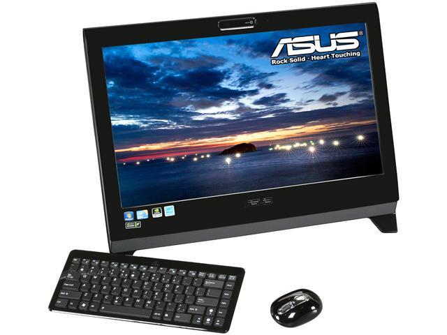 """ASUS All-in-One PC Eee Top ET2400XVT-B011E Intel Core i7 740QM (1.73 GHz) 8 GB DDR3 1 TB HDD 23.6"""" Touchscreen Windows 7 ..."""