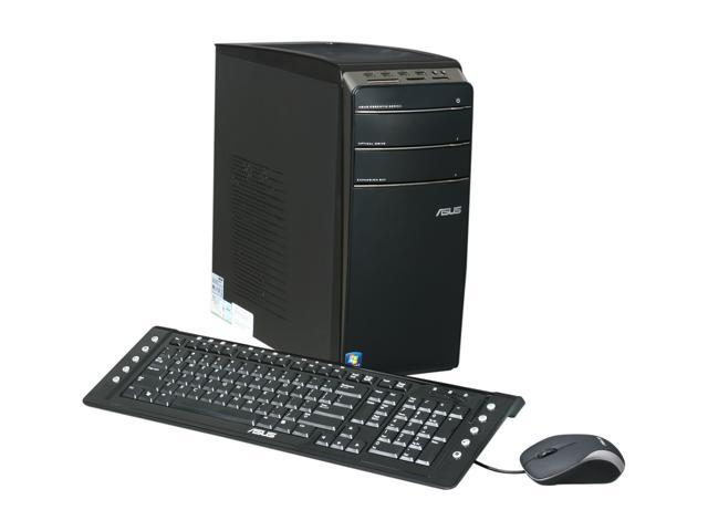 ASUS Desktop PC Essentio CM1630-03 Athlon II X2 2.8 GHz 4 GB DDR3 640 GB HDD Windows 7 Home Premium 64-bit