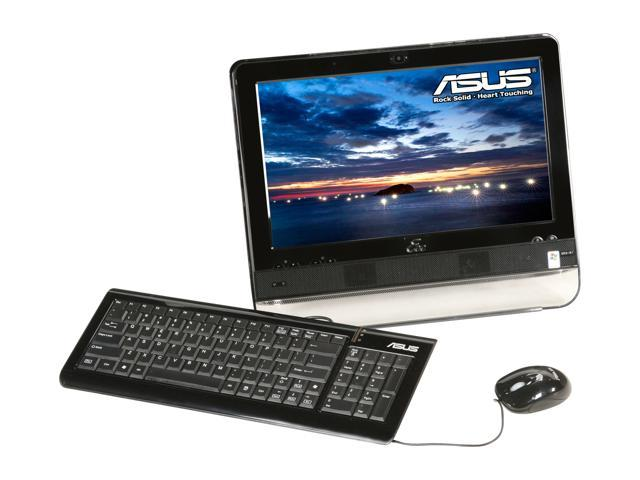"ASUS Desktop PC Eee Top ETP1602C-BK-X0163 Intel Atom N270 (1.60 GHz) 1 GB DDR2 160 GB HDD 15.6"" Touchscreen Windows XP Home"