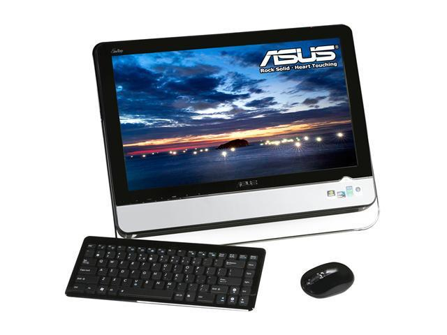 ASUS Desktop PC Eee Top ET2002-B024C Intel Atom N330 (1.60 GHz) 2 GB DDR2 320 GB HDD 20