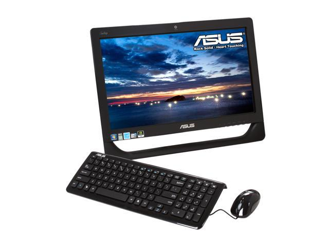 "ASUS All-in-One PC Eee Top ET2010PNT-B027E Intel Atom D510 (1.66 GHz) 2 GB DDR2 320 GB HDD 20"" Touchscreen Windows 7 Home ..."