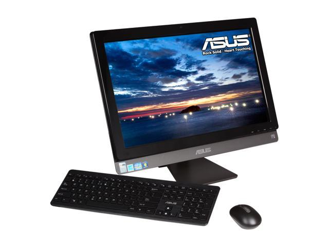 "ASUS All-in-One PC ET2410IUTS-B034C Intel Core i3 2120 (3.30 GHz) 4 GB DDR3 500 GB HDD 23.6"" Touchscreen Windows 7 Home Premium ..."