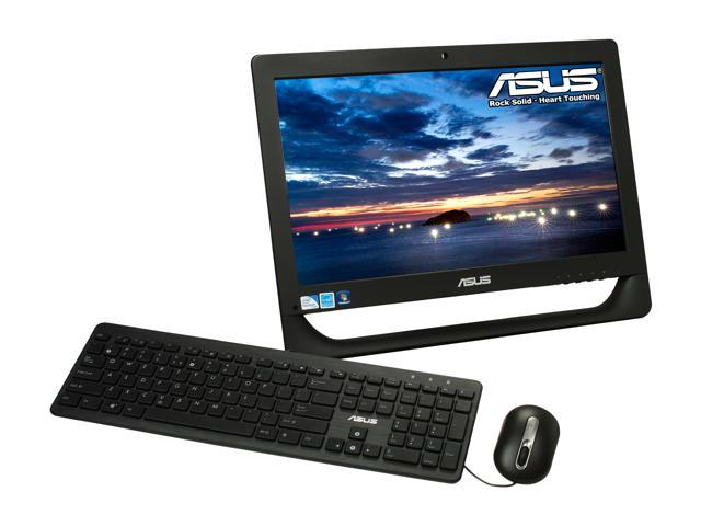 "ASUS All-in-One PC ET2012EUTS-B007C Pentium G630 (2.70 GHz) 4 GB DDR3 500 GB HDD 20"" Touchscreen Windows 7 Home Premium 64-Bit"