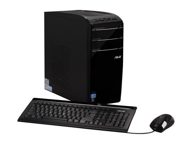 ASUS Desktop PC CM6870-US-3AB Intel Core i7 3770 (3.40 GHz) 16 GB DDR3 2 TB HDD Windows 7 Home Premium 64-Bit