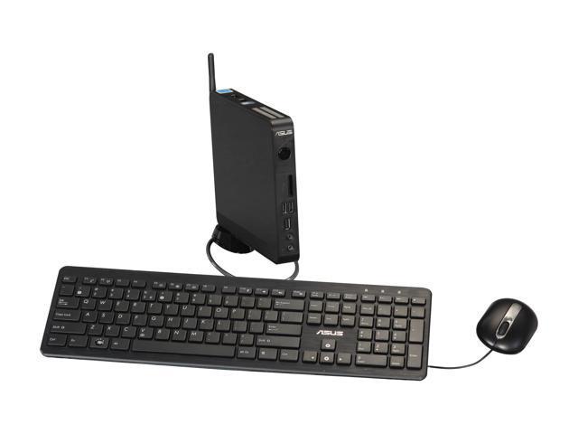 ASUS Nettop EB1007P-B001F Intel Atom D425 (1.80 GHz) 2 GB DDR3 320 GB HDD Windows 7 Professional 32-Bit