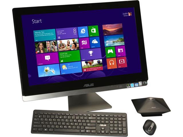"ASUS All-in-One PC ET2701INTI-B053K Intel Core i7 3770s (3.10 GHz) 8 GB DDR3 1 TB HDD 27"" Touchscreen Windows 8 64-bit"