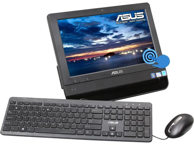"ASUS All-in-One PC ET1612IUTS-B004E Celeron 847 (1.10 GHz) 2 GB DDR3 320 GB HDD 15.6"" Touchscreen Windows 7 Professional ..."