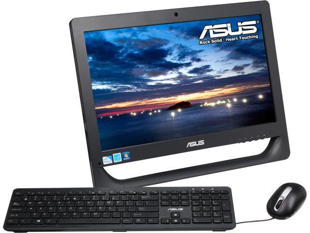 "ASUS All-in-One PC ET2013IUTI-B006E Pentium G645 (2.90 GHz) 4 GB DDR3 500 GB HDD 20"" Touchscreen Windows 7 Professional 64-Bit"