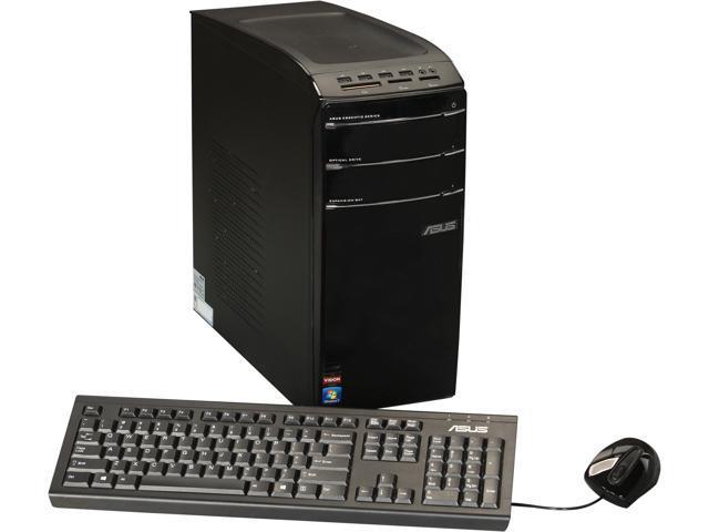 ASUS Desktop PC CM1831-US-3AD AMD FX-Series FX-8120 (3.1 GHz) 8 GB DDR3 2 TB HDD Windows 7 Home Premium 64-Bit