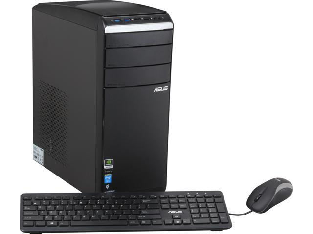 ASUS Desktop PC M51AC-US015S Intel Core i7 4770 (3.40 GHz) 8 GB DDR3 2 TB HDD NVIDIA GeForce GTX 650, 1GB Windows 8