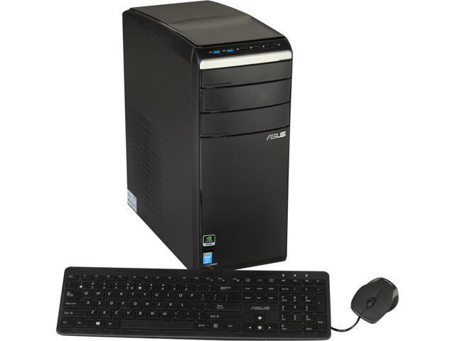 ASUS Desktop PC M51AC-US014S Intel Core i7 4770 (3.40 GHz) 8 GB DDR3 2 TB HDD Windows 8