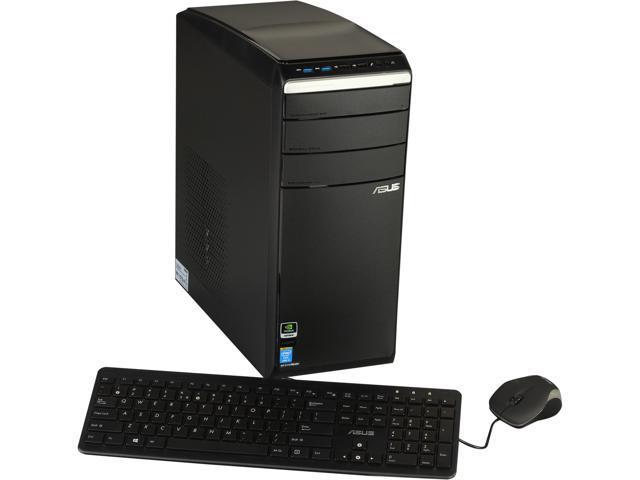 ASUS Desktop PC M51AC-US011S Intel Core i5 4430 (3.00 GHz) 8 GB DDR3 1 TB HDD NVIDIA GeForce GT 640, 3GB Windows 8