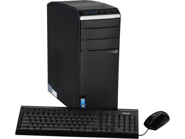 ASUS Desktop PC M51AD-US004O Intel Core i5 4440 (3.10 GHz) 12 GB DDR3 1 TB HDD AMD Radeon HD 7770 Windows 7 Home Premium