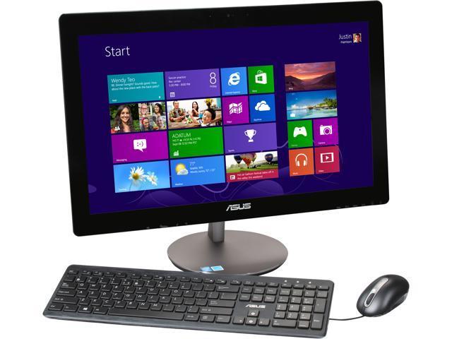 ASUS All-in-One PC ET2322IUKH-02 Intel Core i3 4010U (1.7 GHz) 4 GB DDR3 500 GB HDD 23