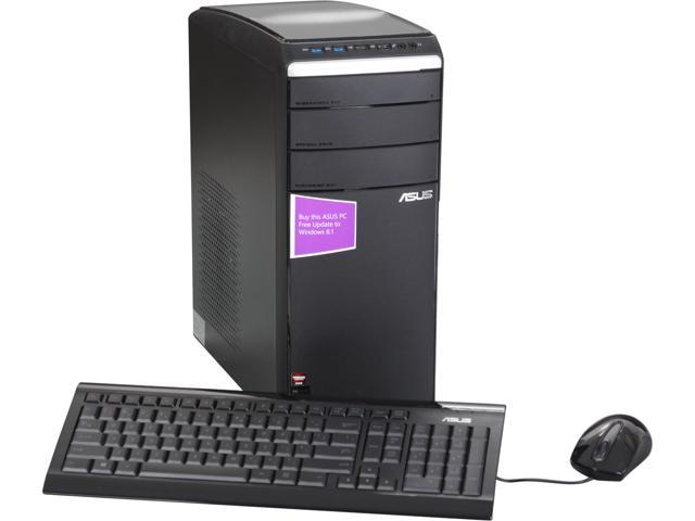 ASUS Desktop PC M51BC-US008S AMD FX-Series FX-8300 (3.30 GHz) 32 GB DDR3 1 TB HDD Windows 8