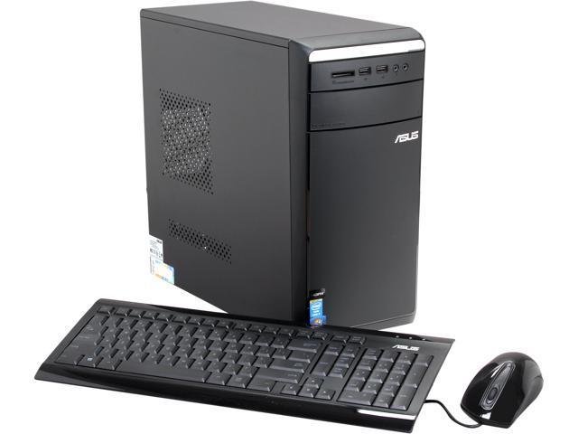 ASUS Desktop PC M11AD-US002Q Intel Core i7 4770S (3.10 GHz) 8 GB DDR3 1 TB HDD Windows 7 Professional 64-Bit