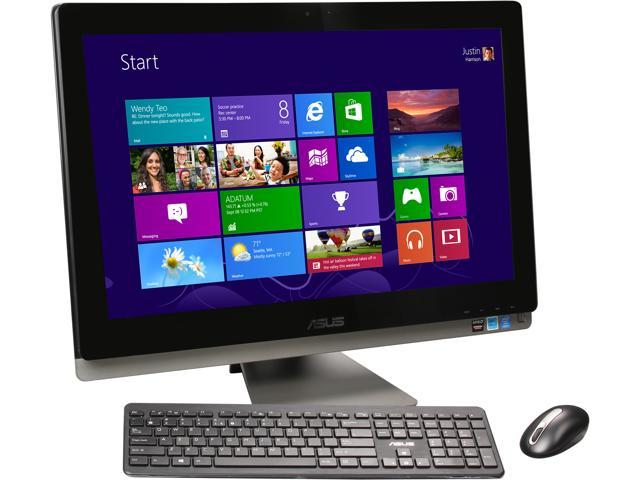 "ASUS All-in-One PC ET2702IGTH-01 Intel Core i5 4440s (2.80 GHz) 8 GB DDR3 1 TB HDD 27"" Touchscreen Windows 8.1 64-Bit"