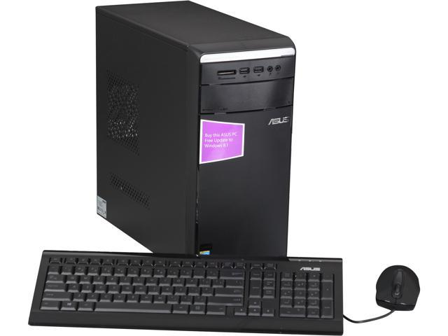 ASUS Desktop PC M11AD-US012S Intel Core i7 4770S (3.10 GHz) 8 GB DDR3 1 TB HDD Intel HD Graphics 4600 Windows 8