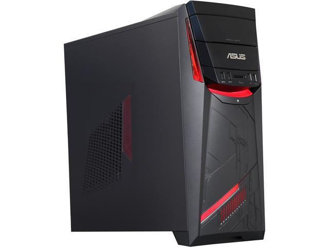 ASUS Desktop PC G11CD-US007T Intel Core i7 6th Gen 6700 (3.4 GHz) 16 GB DDR4 2 TB HDD 8 GB SSD NVIDIA GeForce GTX 970 Windows 10 Home 64-Bit