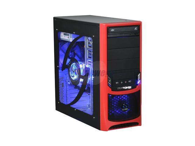 iBUYPOWER Desktop PC Gamer Power 508 Athlon 64 X2 5000+ 4 GB DDR2 500 GB HDD Windows Vista Home Premium 64-bit
