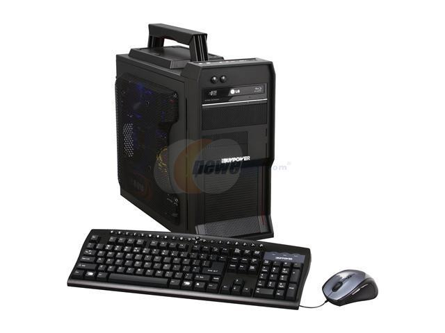iBUYPOWER Desktop PC LAN Warrior 470SLIC Core i7 Extreme 980X (3.33 GHz) 12 GB DDR3 1 TB HDD Windows 7 Home Premium 64-bit