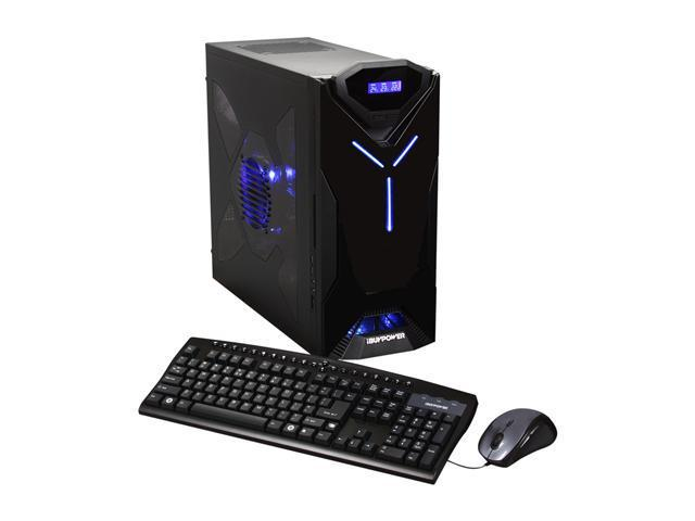 iBUYPOWER Desktop PC Gamer Extreme 936K Intel Core i5 2500K (3.30 GHz) 4 GB DDR3 1 TB HDD AMD Radeon HD 6850 Windows 7 Home Premium 64-bit