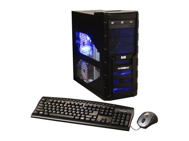 iBUYPOWER Desktop PC Gamer EXTREME 569D3 AMD FX-Series FX-6100 (3.3 GHz) 8 GB DDR3 1 TB HDD Windows 7 Home Premium 64-Bit